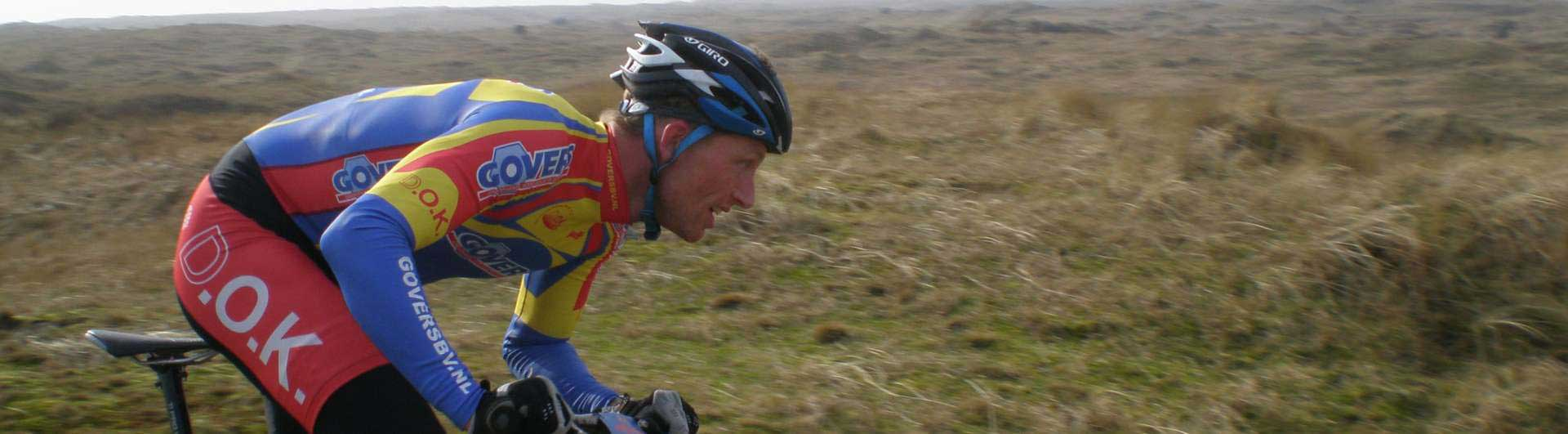 MTB Ameland beeldverslagen: MTB'er fietst door de natuur van Ameland