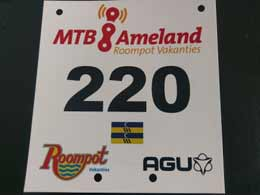 MTB Ameland 2018: Startnummerindeling
