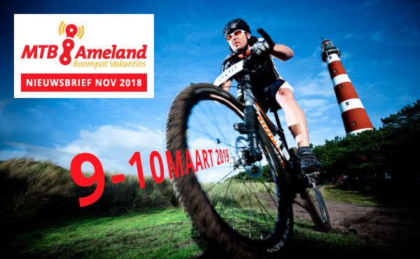 MTB Ameland 2019 op 9 en 10 maart