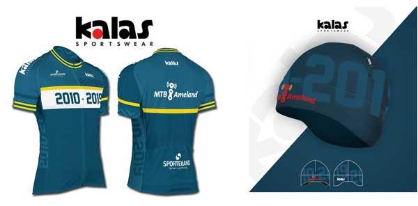 MTB Ameland nnieuwsbrief 2019: Jubileum shirt en muts